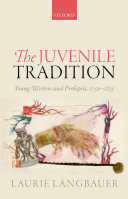 download ebook the juvenile tradition pdf epub