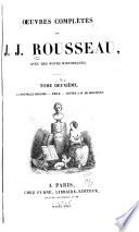 uvres compl  tes de J  J  Rousseau