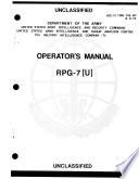 operator s manual rpg 7 u