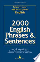 2000 English Phrases and Sentences
