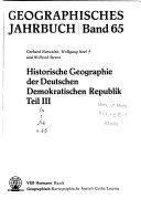 Geographisches Jahrbuch