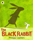The Black Rabbit Rabbit Chasing Him No Matter