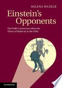 Einstein s Opponents