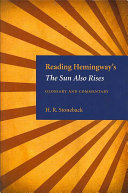 Reading Hemingway s The Sun Also Rises