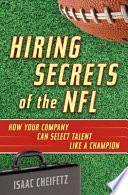 Hiring Secrets of the NFL