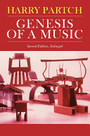 Genesis Of A Music History Harry Partch S Life 1901 1974 And Music Embody