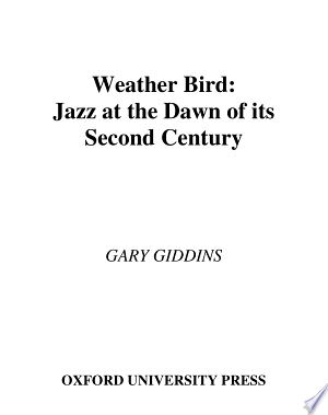 Weather Bird: Jazz at the Dawn of Its Second Century - ISBN:9780195348163