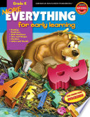 More Everything for Early Learning  Grade K