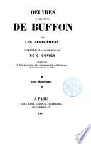 Oeuvres complètes de Buffon: Animaux. De l'homme