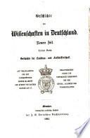 Geschichte der landbau  und forstwissenschaft