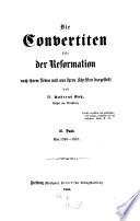 Die Convertiten seit der Reformation nach ihrem Leben und aus ihren Schriften dargestellt