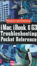 I Mac Ibook And G3 Troubleshooting Pocket Reference