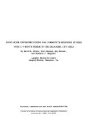 Sonic-boom Exposures During FAA Community-response Studies Over A 6-month Period In The Oklahoma City Area : ...