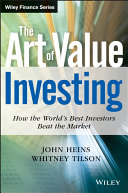 The Art of Value Investing Book
