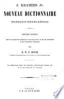 Nouveau Dictionnaire N Erlandais Fran Ais Et Fran Ais N Erlandais