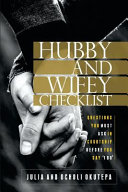 The Hubby And Wifey Checklist