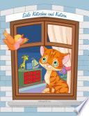 S    e K  tzchen und Katzen Malbuch 1  2   3