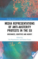 Media Representations of Anti Austerity Protests in the EU