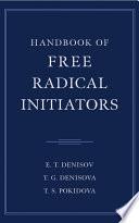 Handbook of Free Radical Initiators Book PDF