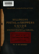 Bullinger s Postal and Shipping Guide for the United States   Canada