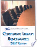 Corporate Library Benchmarks