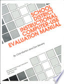 School District Instructional Computer Use Evaluation Manual