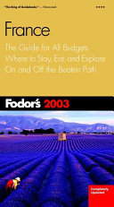 France 2003 Book PDF