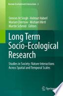 Long Term Socio Ecological Research