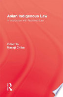 Asian Indigenous Law