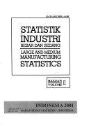 Statistik industri besar dan sedang