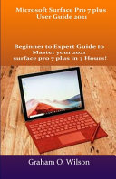 Microsoft Surface Pro 7 Plus User Guide 2021