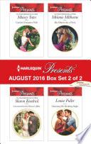 Harlequin Presents August 2016   Box Set 2 of 2