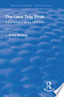 The Laud Troy Book Book PDF