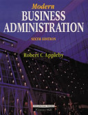 Modern Business Administration