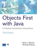 Objects First With Java