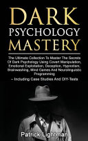 Dark Psychology Mastery