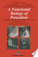 A Functional Biology Of Parasitism