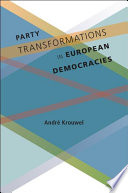 Party Transformations In European Democracies book