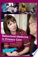 Behavioral Medicine in Primary Care