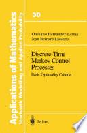 Discrete Time Markov Control Processes