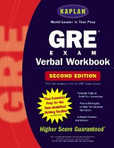 Kaplan Gre Verbal Workbook  2nd Editi