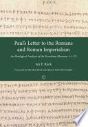 Paul S Letter To The Romans And Roman Imperialism