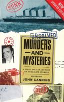 Unsolved Murders and Mysteries Pbp Pdf/ePub eBook