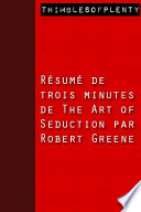 download ebook résumé de 3 minutes de « the art of seduction » par robert greene pdf epub
