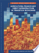 Agricultural Finance And Credit Infrastructure In Transition Economies Proceedings Of Oecd Expert Meeting Moscow February 1999