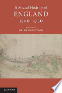 A Social History of England  1500 1750