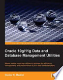 Oracle 10g 11g Data and Database Management Utilities