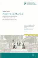 Strafrecht und Gacaca.