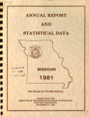 Annual Report and Statistical Data - Division of Insurance