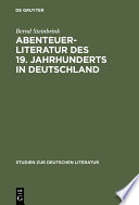 Abenteuerliteratur des 19. Jahrhunderts in Deutschland